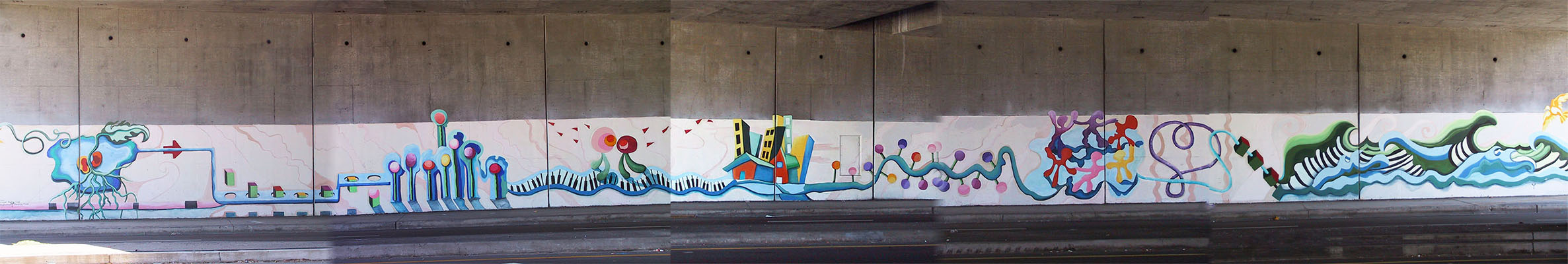 Journey of Life underpass mural completed