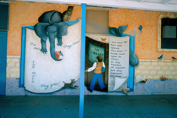 Through the Storybook Mural